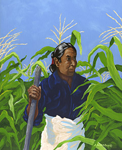 Jonathan Warm Day - Man In The Corn